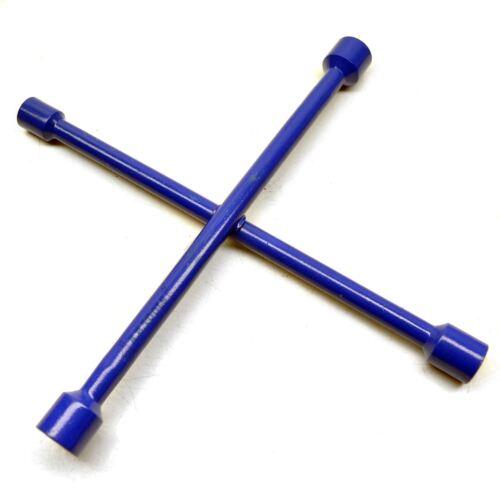 4 Forma Cruz Rueda Brace Tuerca Llave//Llave De Hierro Neumático 17-19-21-23mmm TE566