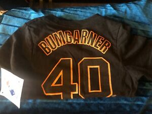 Bumgarner-San-Francisco-Giants-Toddler-Black-Size-3t-New-With-Tags