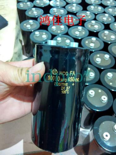 For 1pcs HITACHI HCG FA 450V 10000UF inverter filter capacitor 75*145mm