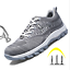 Safety Shoes Womens Steel Toe Work Boots Sports Athletic Hiking Shoes Trainers