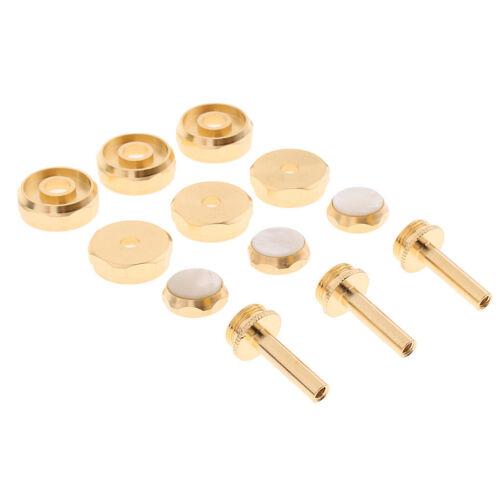 Durable 1 Set Metall vergoldete Trompete Reparaturteile für Trumpeter