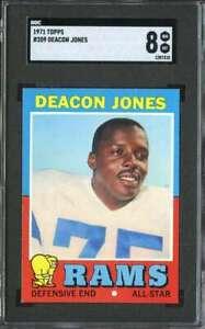 1971-TOPPS-209-DEACON-JONES-SGC-8-LA-RAMS-HOF-K3798
