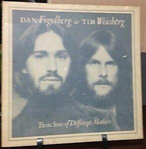 DAN FOGELBERG & TIM WEISBERG Twin Sons of Different Mothers Album Released 1978