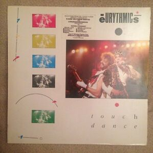EURYTHMICS-Touch-Dance-1984-Vinyl-LP-RCA-PG70354