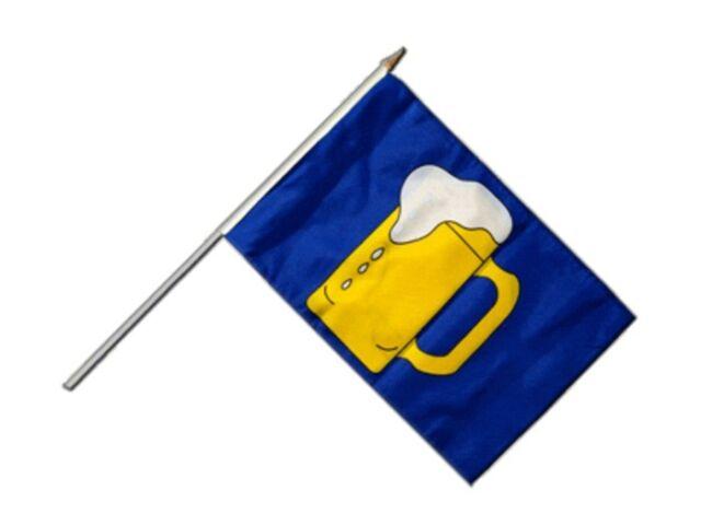 Italien Stockflagge Flaggen Fahnen Stockfahne 30x45cm