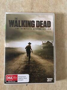 THE-WALKING-DEAD-SEASON-2-3-DISC-SET-DVD-R4-AUS-SELLER-AUS-RELEASE