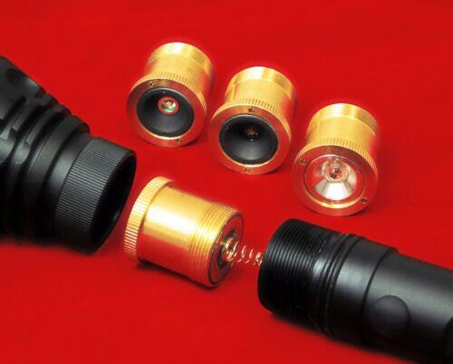 Snipersystems Zoom Gunlight choix de DEL pour tir à la carabine torche Gun light