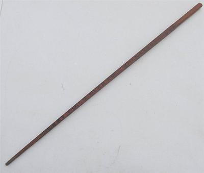 Old Wood Cane Walking Stick Adv. HENRY FIELD SEED CO. Shenandoah IA Iowa