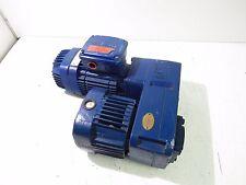MANNESMANN DEMAG KBA 71 MOTOR B6 1060RPM 0.43 3PH230/460V 60HZ W/ GEARBOX *XLNT*