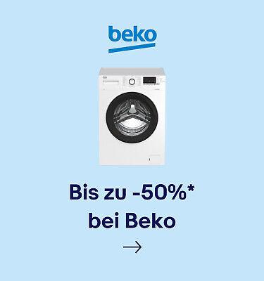 Bis zu -50%* bei Beko