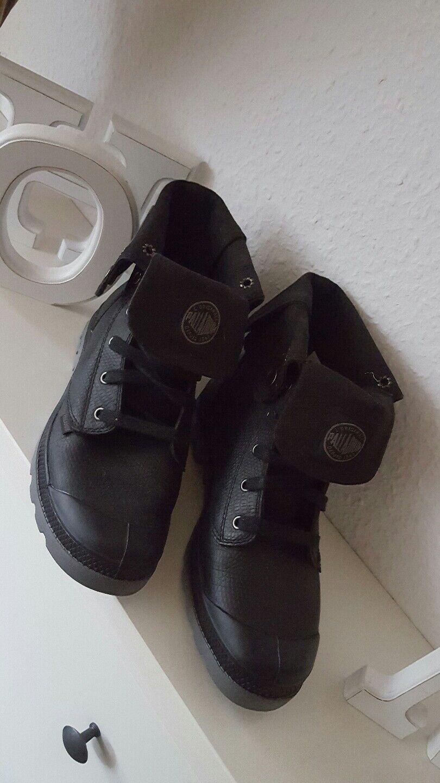 Palladium Pallabrouse Damen Schuhe Stiefel Stiefel  schwarz 41 NEU