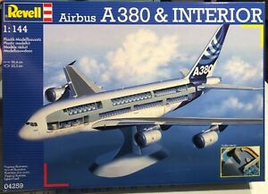 Revell-Airbus-A380-and-Interior-1-144-NEW-FS-Model-Kit-Sullys-Hobbies