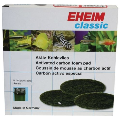 Eheim Classic 250 350 600 Genuine Sponges Foam Blue Carbon Wool Pads Filter