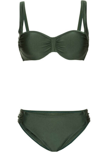 "75 C-Cup 3.3592 Bikini /""verde oliva/"" TG 38"