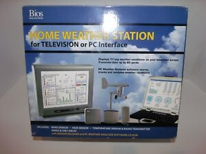 Details about Bios Home Weather Station / PC Weather Analyzer