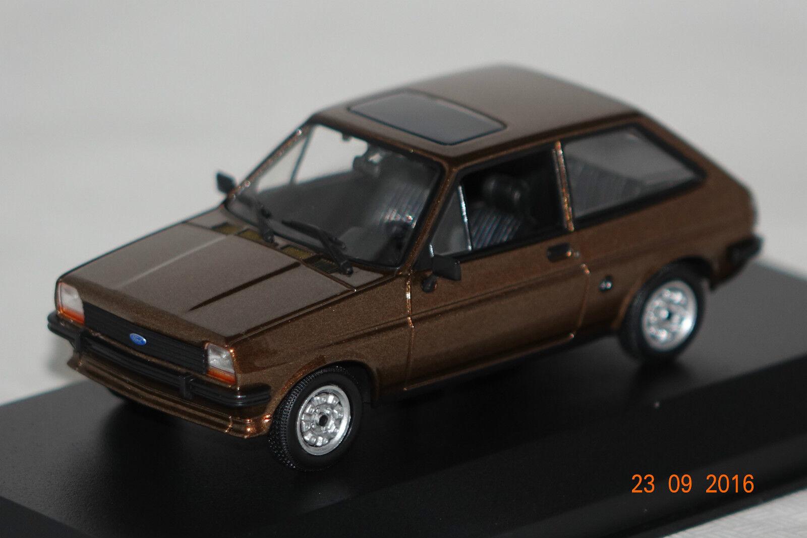Ford FIESTA 1976 Brun Metallic 1 43 maxichamps Minichamps NOUVEAU & OVP 940085101
