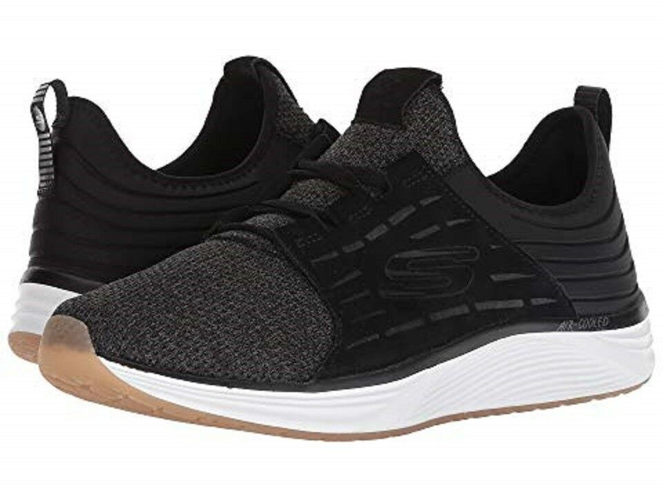 c3cca5b80a8b SKECHERS 52967 BLK SKYLINE SILSHER Mn´s (M) White Athletic shoes Black Mesh  nujglr7452-Men s Trainers