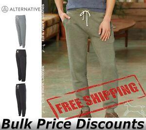 Alternative-Mens-Eco-Fleece-Dodgeball-Pants-Sweatpants-Pocket-9881-up-to-2XL