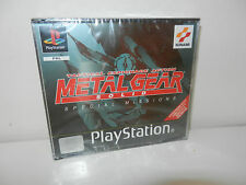 Metal Gear Solid Special Missions *Sealed* *NEW* Pal Playstation 1 PS1 PSone PSX