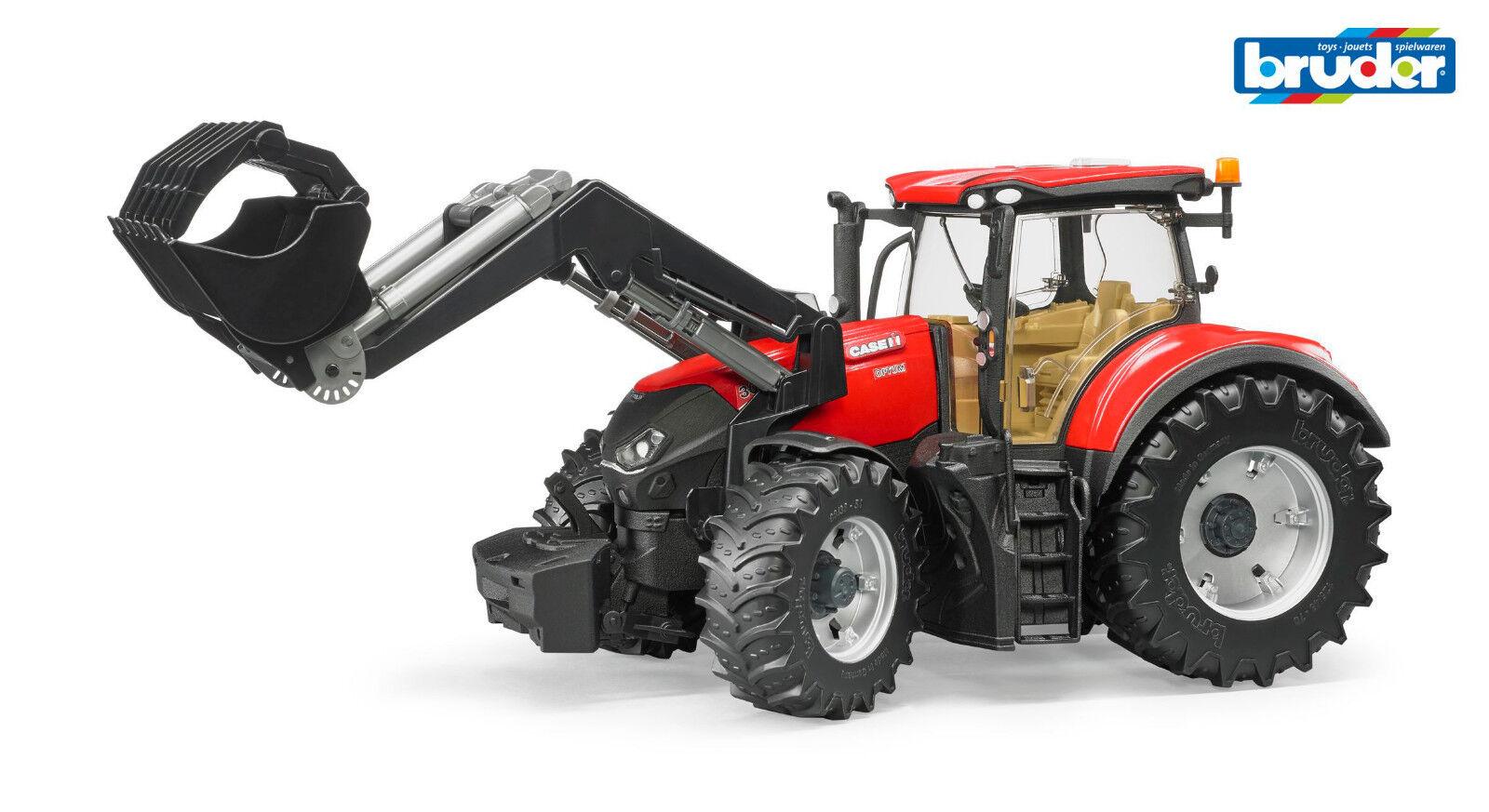 Bruder 03191 Fahrzeug Traktor Traktor Traktor Case IH Optum 300 CVX mit Frontlader 1 16 f7c924