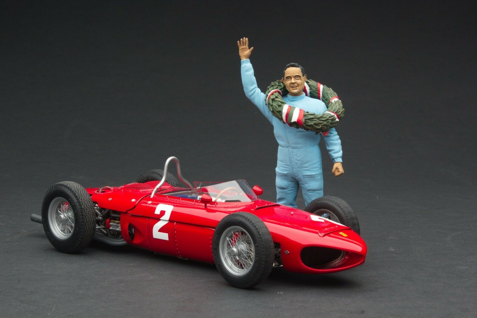 Exoto XS 1961 Ferrari Dino 156  120  P. Hill   1st Monza   1 18    Gpc97204f2