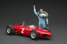 Exoto XS 1961 Dino 156/120 Sharknose / P. Hill / 1st Monza / 1:18 / #GPC97204F2