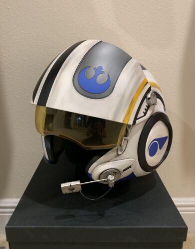 Star Wars Poe Dameron Movie Costume Replica X-wing Pilot Helmet Decals