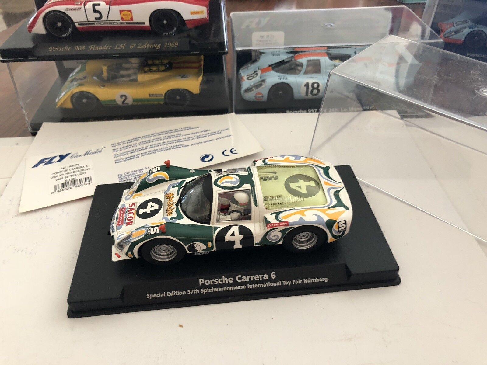 Fly Car Model Porsche Carrera 6 Le Mans Slotcar Slot 1 32 No Ninco Scalextric