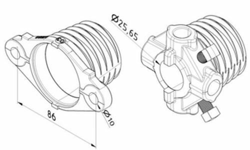 Normstahl Sektionaltorfeder Torsionsfeder Garagentorfeder typ-m 50x6x760 Komp
