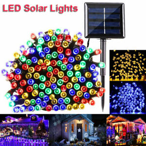 72ft-170ft-300-LED-Outdoor-Solar-Power-String-Light-Garden-Christmas-Fairy-Decor