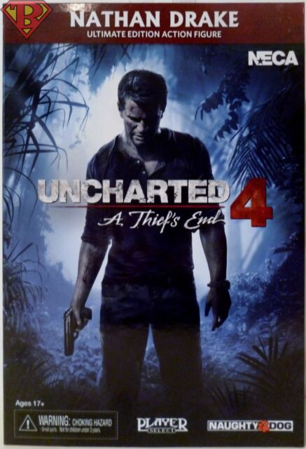 """Uncharted 4 échelle 7/"""" Ultimate Nathan Drake Action Figure"""