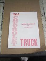 1965 Chevrolet Truck Wiring Diagram Booklet