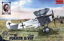 FOKKER D VII F LATE (DUTCH LITHUANIAN UKRAINIAN SOVIET & GERMAN MKGS) 1/72 RODEN