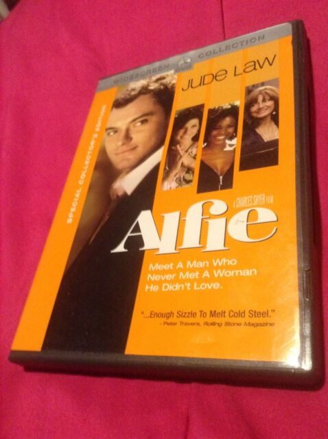 Alfie DVD 2004 Widescreen Version Dramatic Comedy Jude Law ...