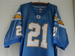 0430af29 Details about Reebok NFL Authentic San Diego Chargers LaDainian Tomlinson  #21 Jersey Size 54