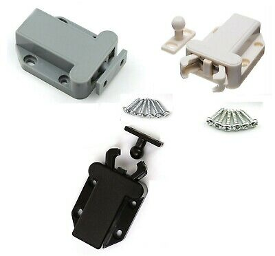 Double Push To Open Magnetic Door Drawer Cabinet Latch Catch Touch Cupboard
