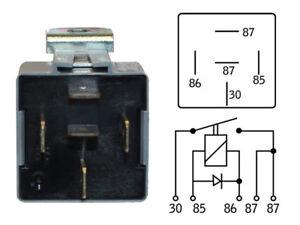 Rele-Relay-Relais-12V-30A-Universale-5-Pin-Luci-Auto-Moto-Trombe