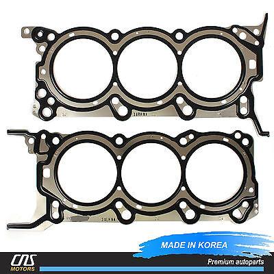 MLS Cylinder Head Gaskets Left /& Right for 06-12 Hyundai Kia 3.8L OEM 223113CAD0