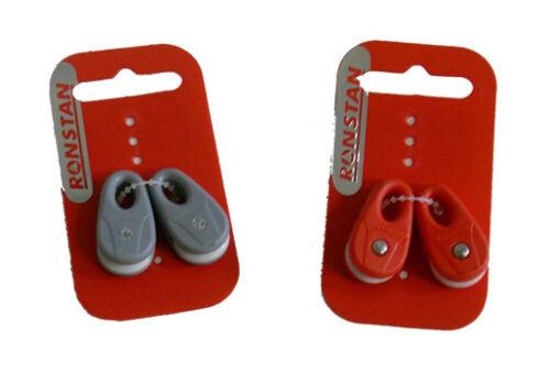 2 pezzi RonstanRF13101 Micro bozzello KiteBlock con puleggia 16mm