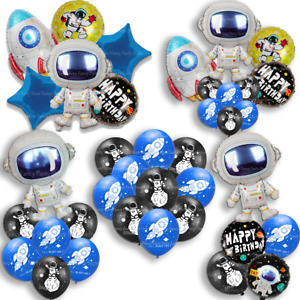 Astronaut-Space-Rocket-Happy-Birthday-Foil-Latex-Balloons-Kids-Party-Decorations