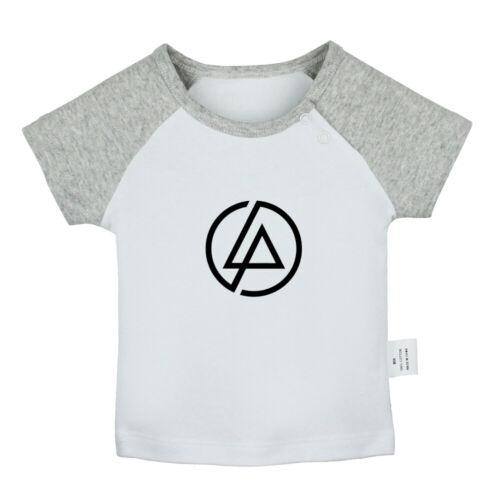 Popular Linkin Park Newborn Baby T-shirt Infant Clothes Toddler Graphic Tee Vest