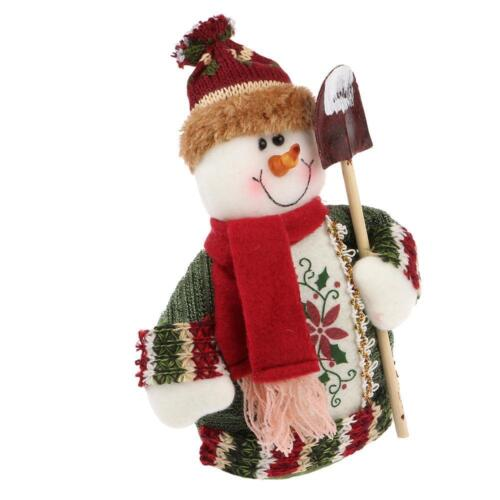 Christmas Standing Santa Claus//Snowman//Reindeer Doll Table Decoration Supplies