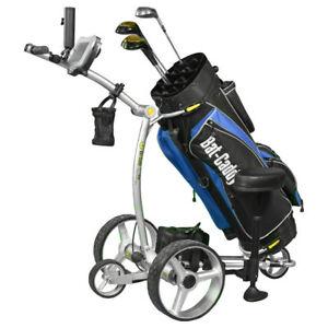 Electric Golf Caddy >> Details About 2019 Bat Caddy X4r Remote Control Electric Golf Bag Cart Trolley Accessories