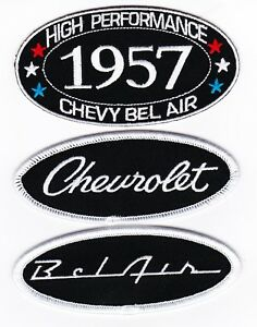 1957-CHEVY-BEL-AIR-SEW-IRON-ON-PATCH-BADGE-EMBLEM-EMBROIDERED-SPORT-COUPE-CAR