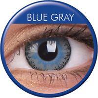 Farbige Kontaktlinsen Fusion Gray Blue grau blaue Kontaktlinsen Augen blaue