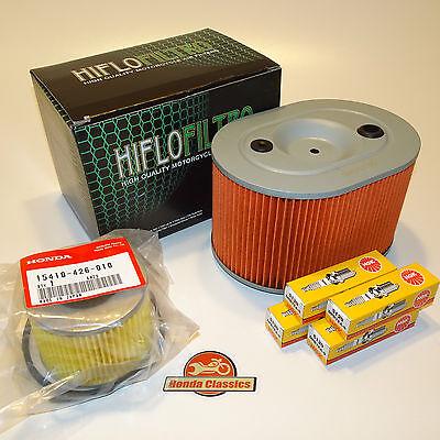 Honda Engine Service Kit CB750F CB900F DOHC Four KIT038 Oil Air Filters Plugs