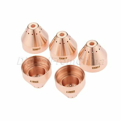 5Pcs TIG Plasma Shield 420168 Fit For 65 85 105 125 45A 65A Torch Mechanized