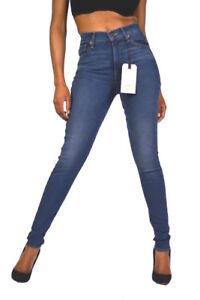 27/28/29 Um Jeden Preis Neu Levi's® Jeans Mile High Mittelblau Indigo Super Skinny Fit Gr