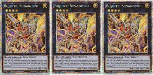 BUJINTEI SUSANOWO x3 3x CT11-EN002 Yugioh MINT Rare PROMO SUPER Card