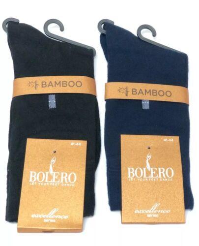 2 Pairs Men's Bamboo Luxury Dress Socks Natural Super Soft Anti Bacterial Socks